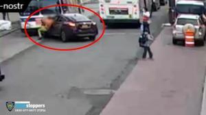 下车却未熄火锁车引贼作案 纽约上月连爆4起偷车案