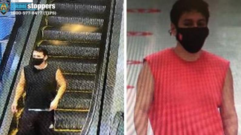 一男子于纽约法拉盛Target超市偷拍未成年女性 警方征线索