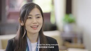 """《闪耀的平凡:青春接力》对话四川外事办""""绿小姐""""王峥"""