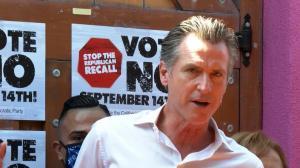 46人挑战 纽森能否保住加州州长?