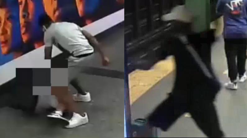 纽约地铁站攻击案连发 争执引发铁锤砸头
