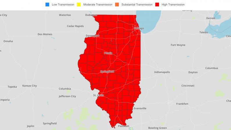 伊州ICU病床告急 南边地区只有1个空位