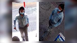 市中心公然持刀袭击 洛杉矶市警公布视频缉凶