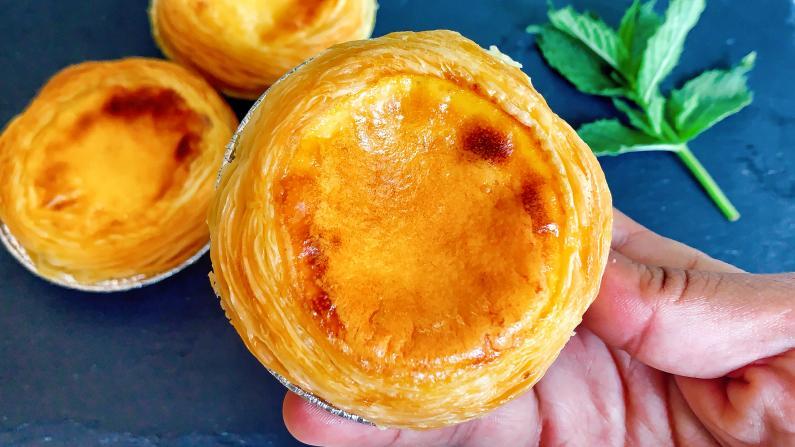 【Lychee Girl】6岁小朋友也可以零失败的葡式蛋挞配方!