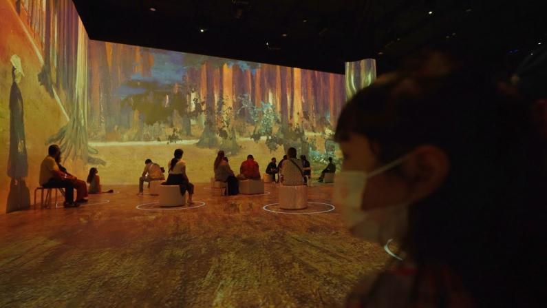 【安家美国·加州尔湾】梵高画展沉浸式体验 值得来看哦!