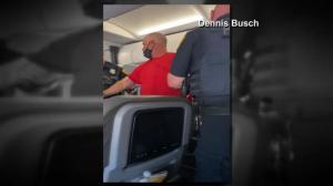 美航乘客机上疑醉酒咆哮被捕 目击者:我们当时都很紧张