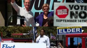 倒计时7天 加州州长罢免选举选情胶着