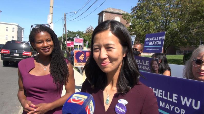 最高支持率晋级 波士顿市长候选人吴弭有望改写历史
