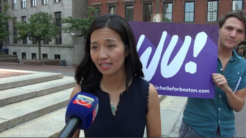 援助有色人种企业、提倡免费公交…波士顿市长候选人吴弭备战终选