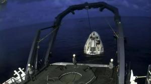 创历史SpaceX全平民机组顺利返航 亿万富翁艾萨克曼:超棒!