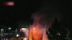 中秋将至 中国多地传统民俗活动庆团圆佳节