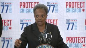 芝加哥市长新目标:年底疫苗接种率达77%