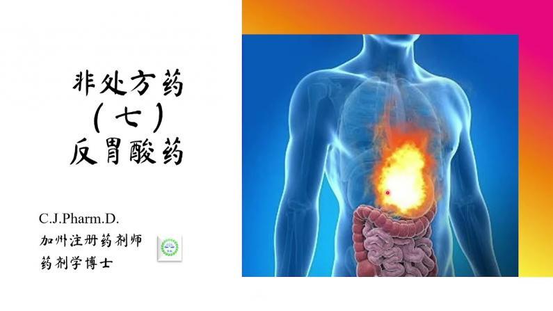 【医痴的木头屋】非处方药 :反胃酸药物