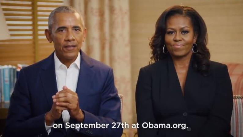 奥巴马夫妇宣布总统图书馆将破土动工