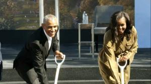 奥巴马总统中心破土动工 耗资$8.3亿 预计2025完工