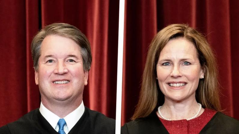 最高法院大法官复工前夕 她补上仪式性授职 他确诊新冠缺席