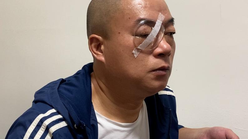 无辜被打或致失明 纽约华裔Uber司机一个月来的痛苦与挣扎