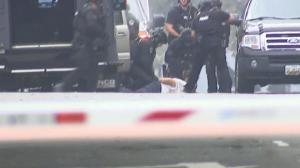 【现场】烟雾、闪光、巨响 国会警察逮捕可疑驾车男子