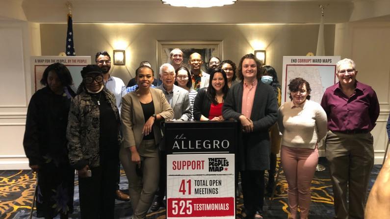 芝加哥独立选区委员会公布最终重划图 亚裔独立成区