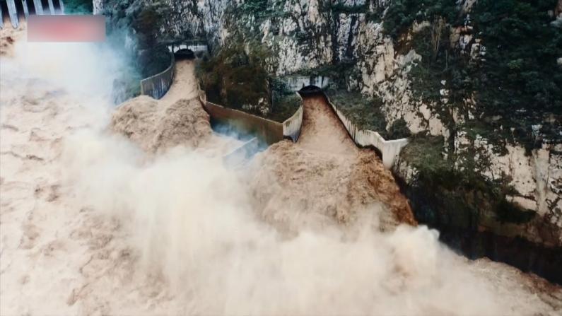 全孔开闸!黄河三门峡水库迎42年来最大洪水
