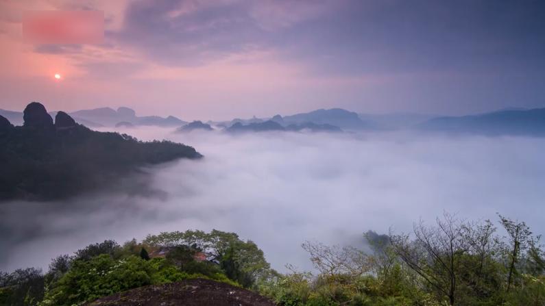武夷山入选中国第一批国家公园名单 一分钟看这里的美景