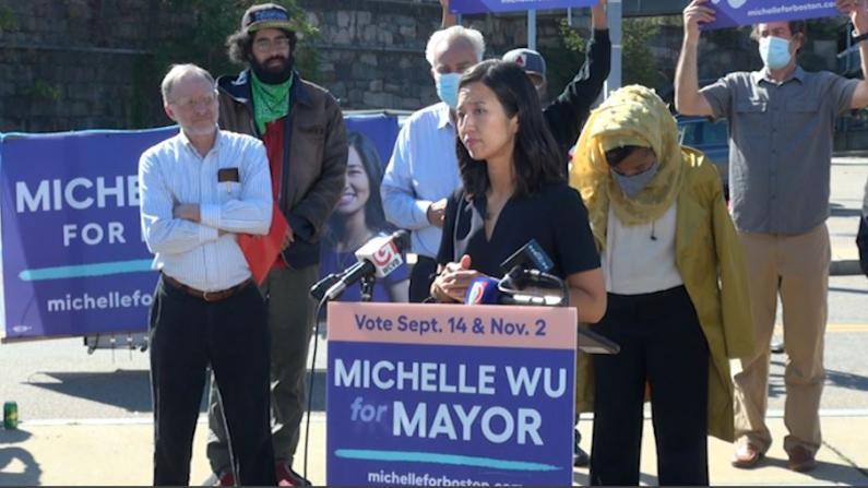 让免费公交成为可能 波士顿市长候选人吴弭瞄准这条地铁线免票