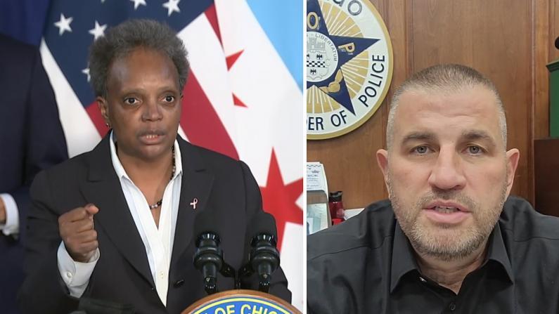 芝加哥&警察工会就强制提供疫苗信息争论不休 相互起诉