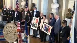 授予最高荣誉!新英格兰地区118位二战华裔老兵获国会金质奖章