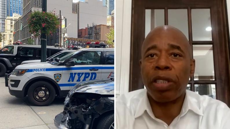 华埠1日3起死伤案件 纽约市长候选人亚当斯谈如何改善治安