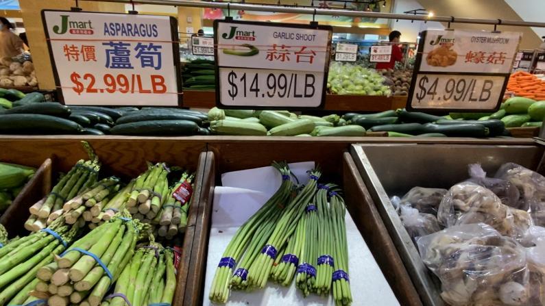 吃不起!纽约法拉盛菜价大涨 最多的每磅贵了10块?