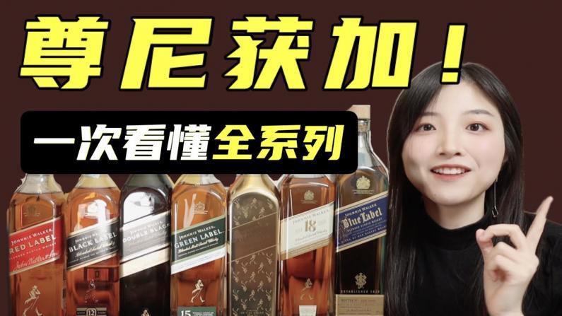 【索菲亚一斤半】黑方红方威士忌?一次性看懂尊尼获加全系列!