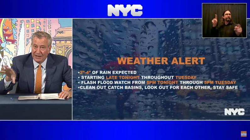纽约市将再迎暴风雨天气 市府警告保持警惕