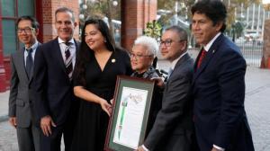 洛杉矶华埠大屠杀150周年 州府拨200万建团结花园